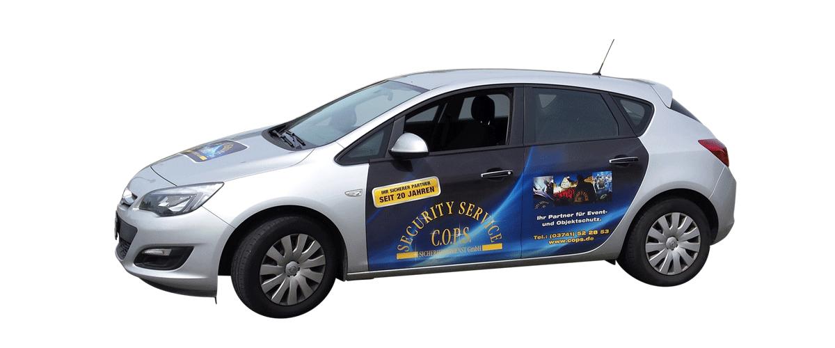 pantoNEO GmbH - Streifenwagen